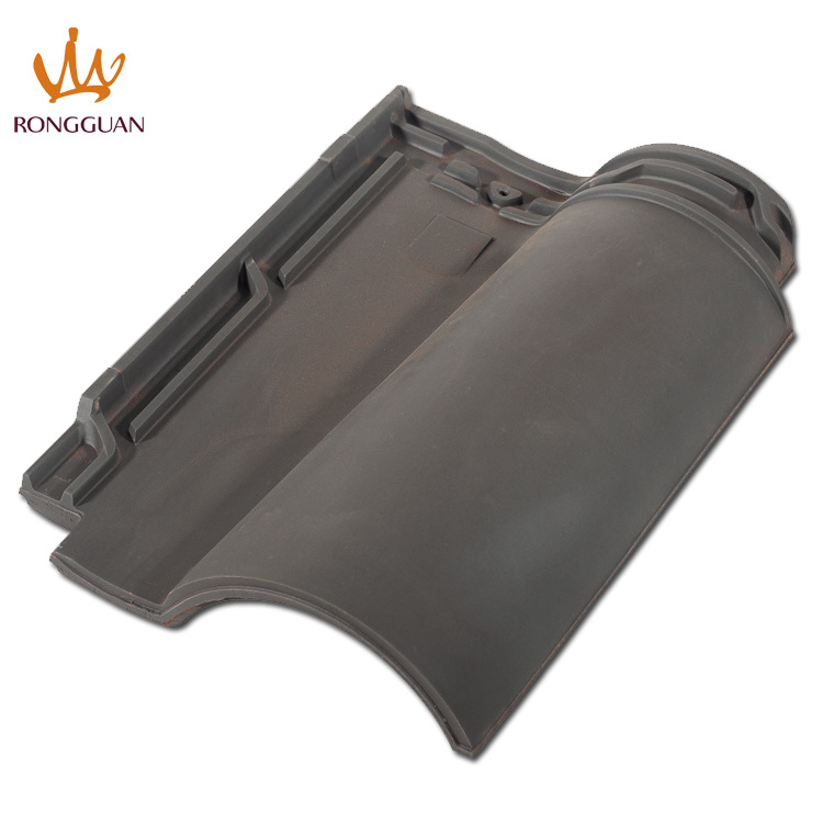 Dark Color Roof Tile Water Proof Clay Tile Interlocking Roof Tile (R1-W57)