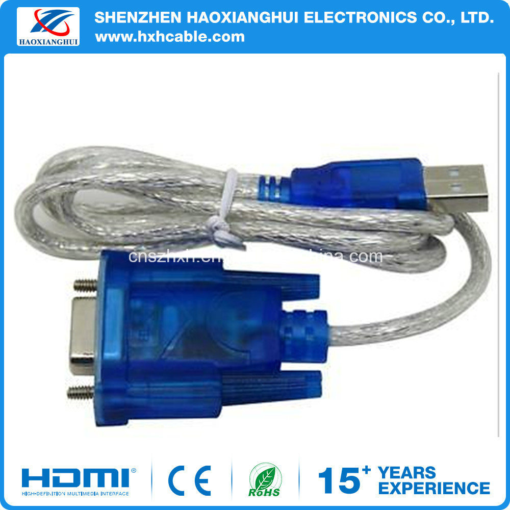 China New Usb 20 Male To Serial Rs232 Db9 9 Pin Female Adapter Db9m Cable Schematic Vga Computer