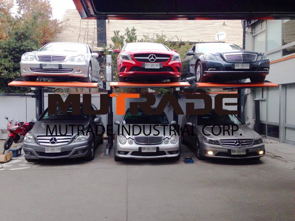 China Auto Parking Stacker Double Floor 2 Post Car Garage Lift