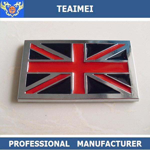 China Luxury Flag Car Emblems Car Decoration Badge Car Logo Emblem