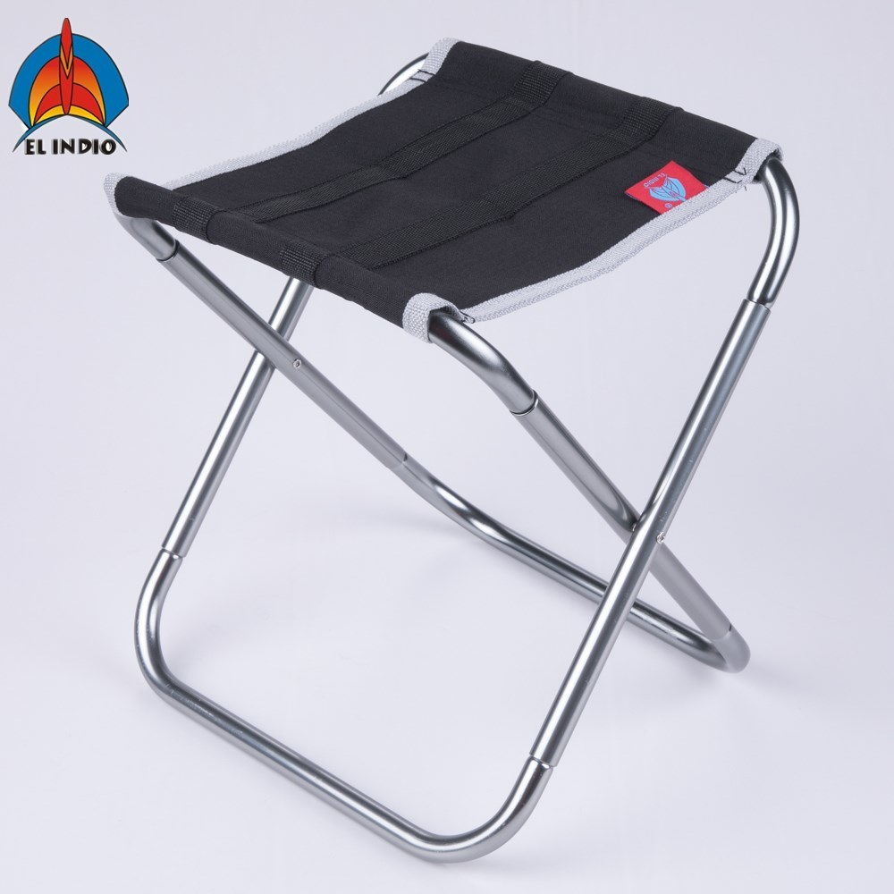 China El Indio Portable Backpack Aluminum Folding Chair For Multi Functional Of Camping Stool Outdoor Fishing