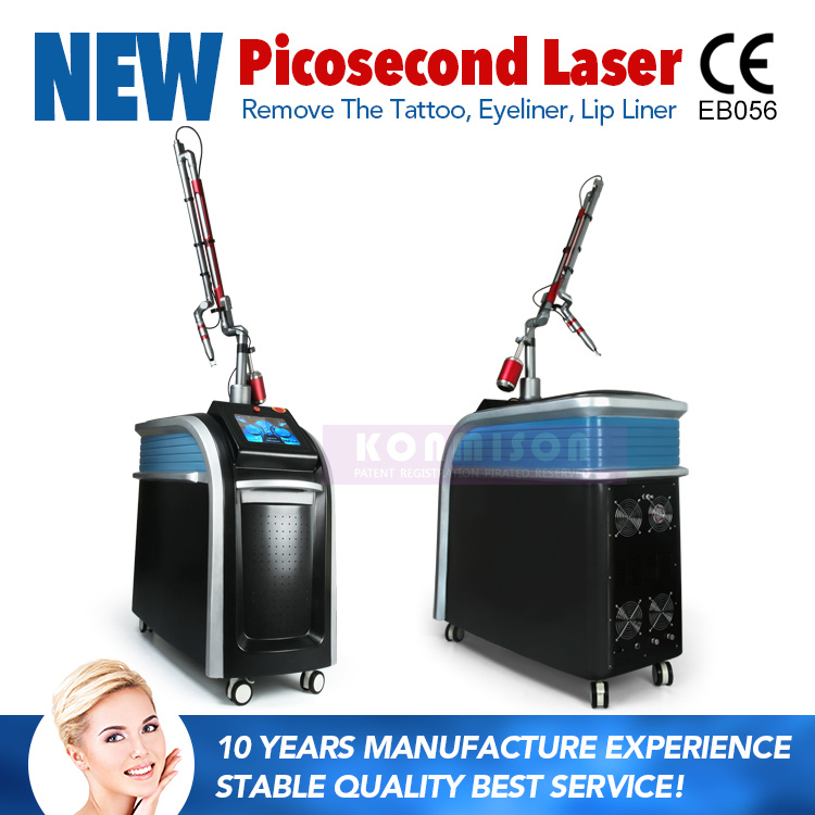 Picosecond Laser Machine 2000W Germanly Handle for Freckle Tattoo Removal pictures & photos