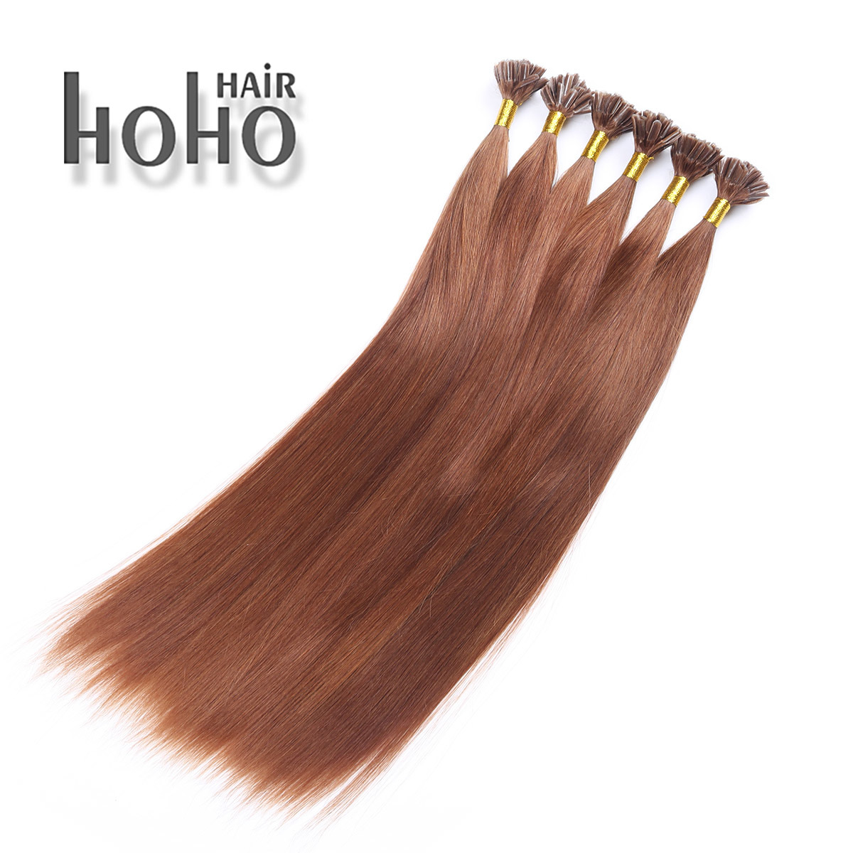China Top Quality Hair 12 Inch Brown U Tip Keratin Human Hair
