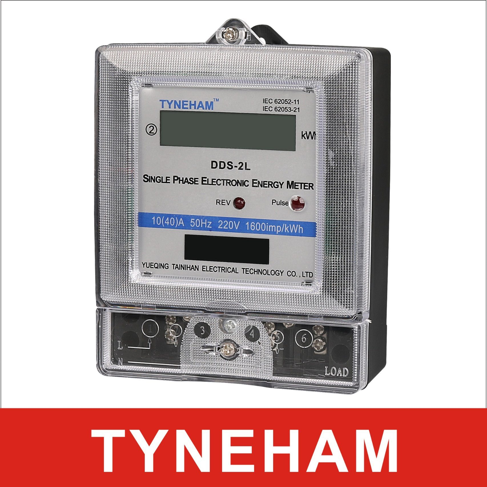China Dds-2 Single Phase Two Wire/ Three Wire Energy Meter LCD Type ...