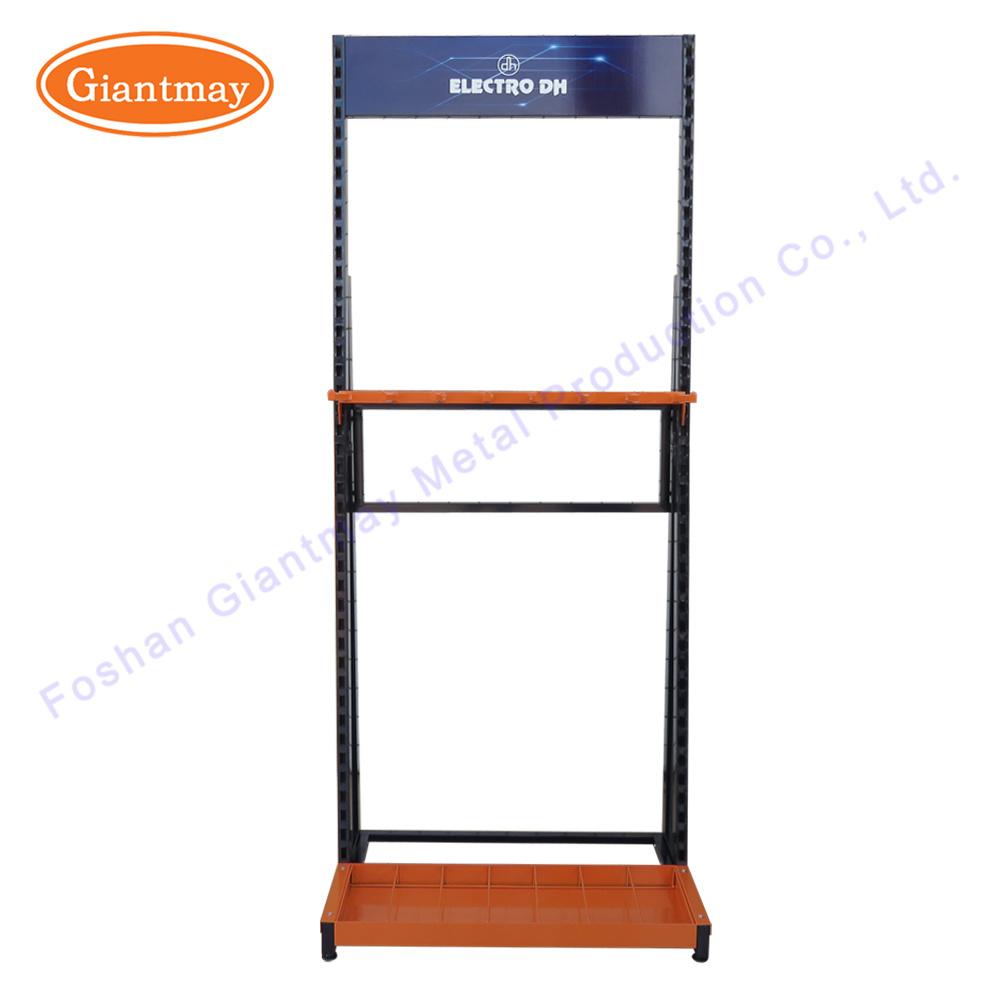 China Retail Store Wire Duct Hanging Metal Basket Holder Display ...