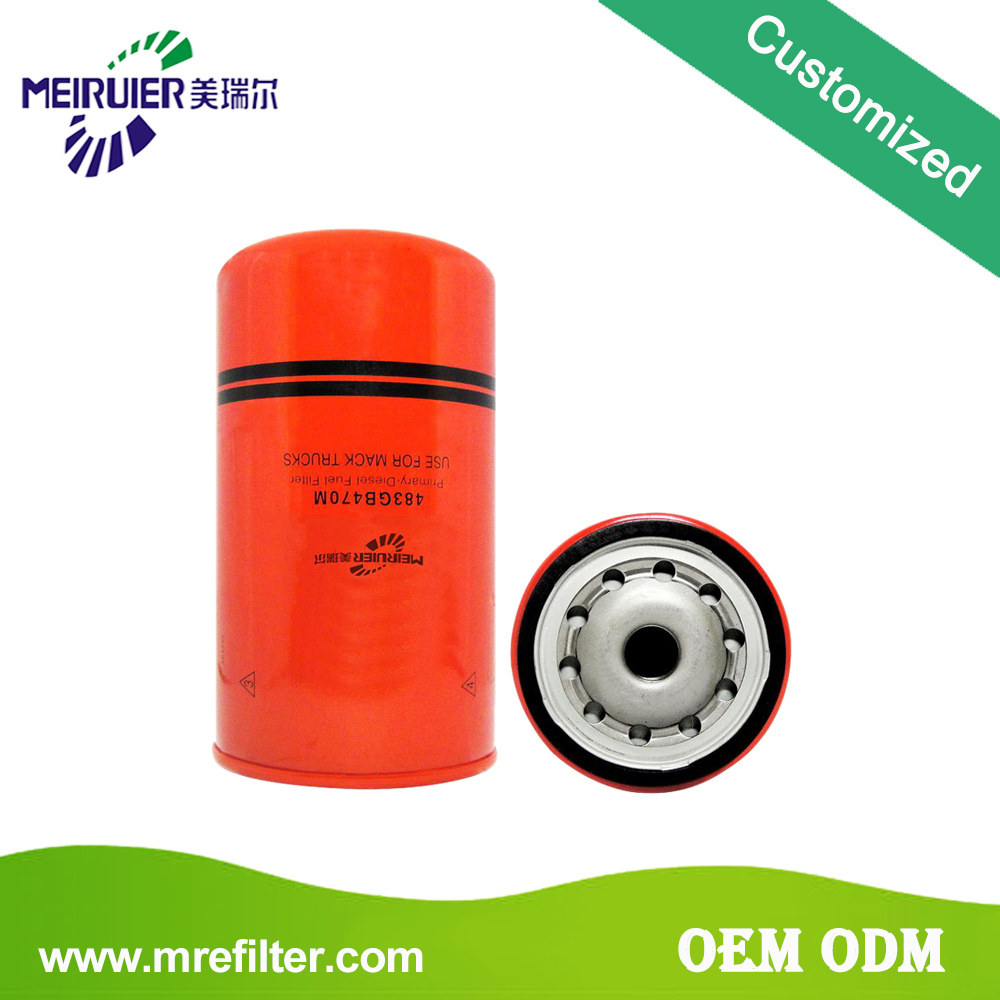 Chinese High Quality Engine Truck Diesel Fuel Filters 483gb470m China Oil Filter