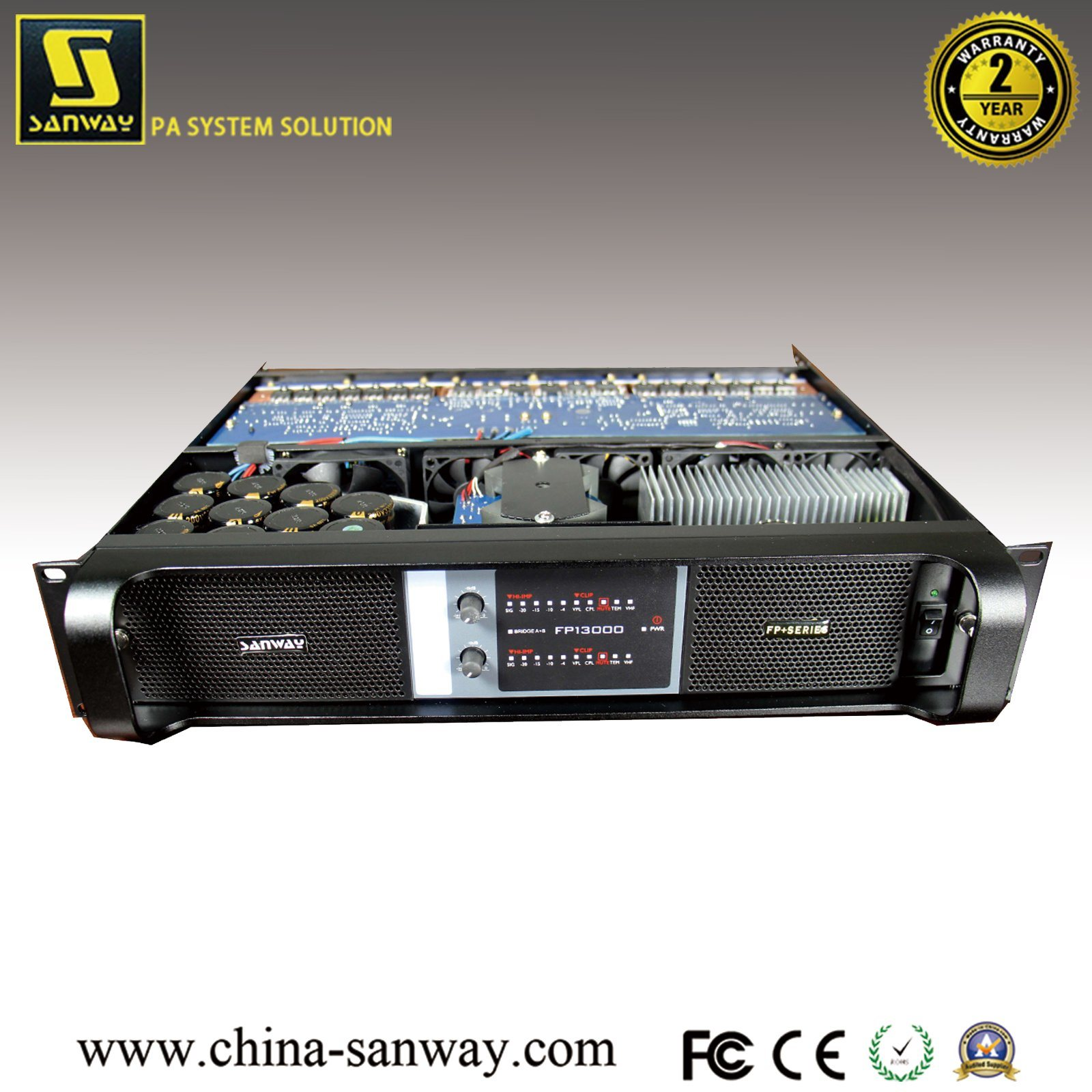 China Sanway Fp13000 Pro Audio Stereo Power Amplifier Pa Speakers System Linear Amps Amplifiers