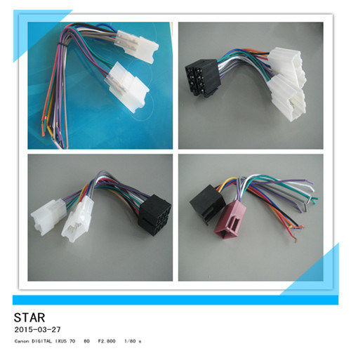 china 16 pin male female car radio wire harness connector china rh starconnect en made in china com