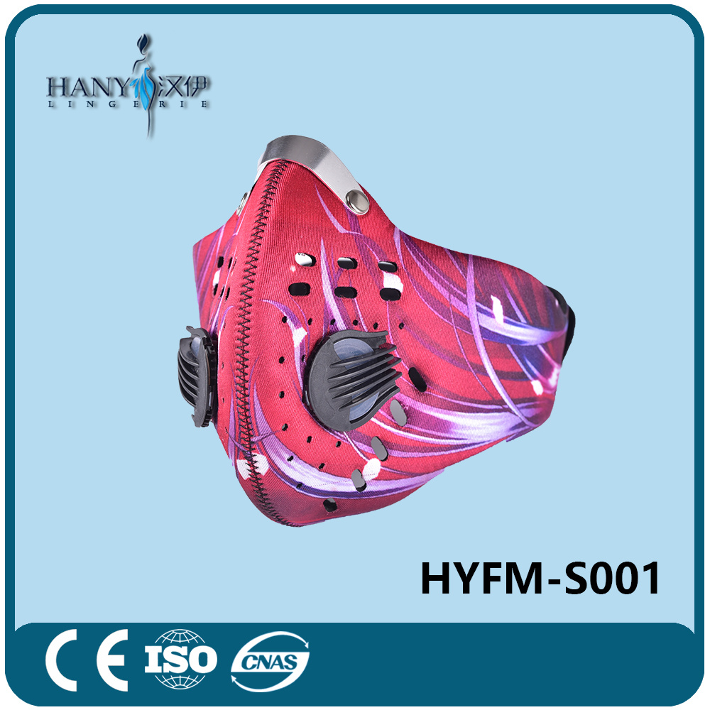 Motorcycle Sports Mask with N95 Filter