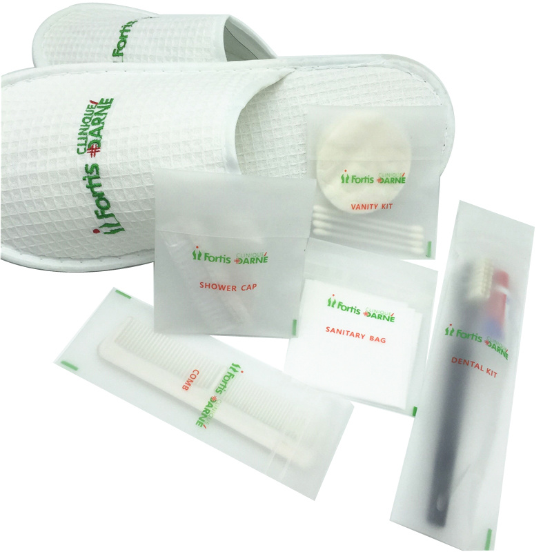 Frosted Bag Amenities Hotel Supply Manufacturer