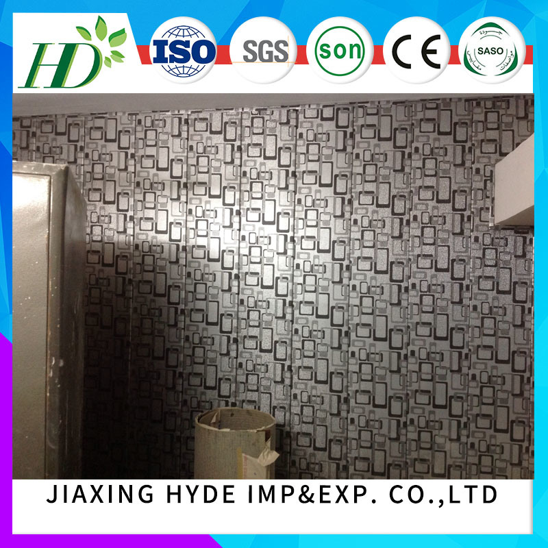 Construction Material PVC Lamination Panel Decoration Wall Panel pictures & photos