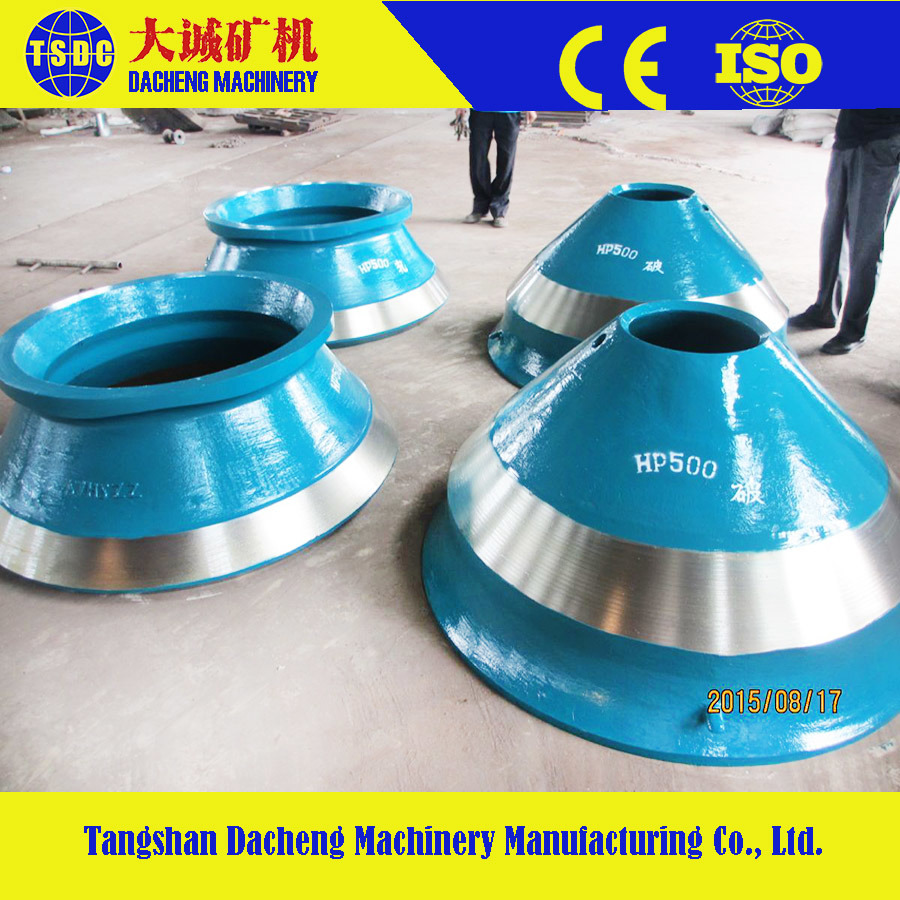 High Manganese Steel Cone Crusher Parts Bowl Liner pictures & photos