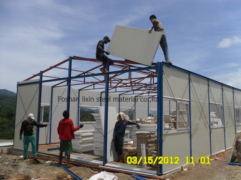 Prefabricated House with Light Steel Frame and Panel pictures & photos