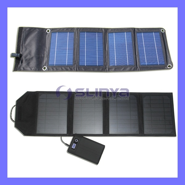 Portable Flexible Mini Solar Panel Battery Charger for iPhone Laptop