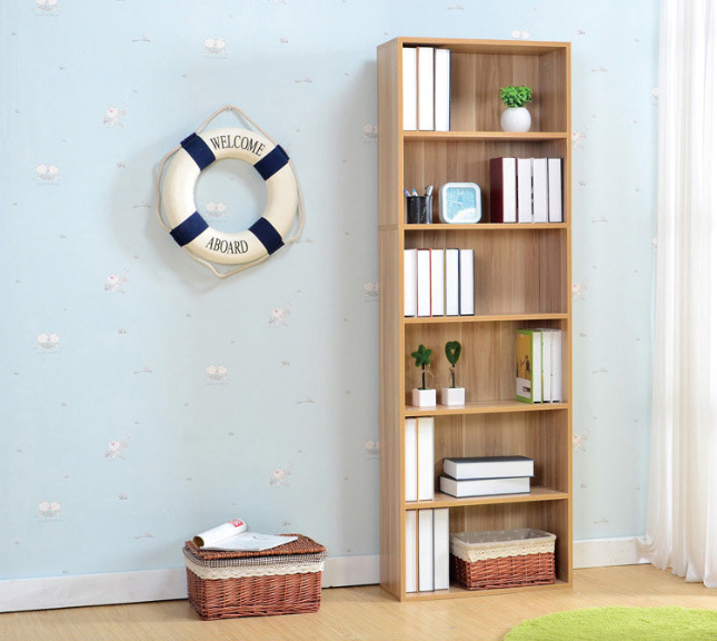 Cheap Price Wooden Bookcase with MDF Material (M-X1066)