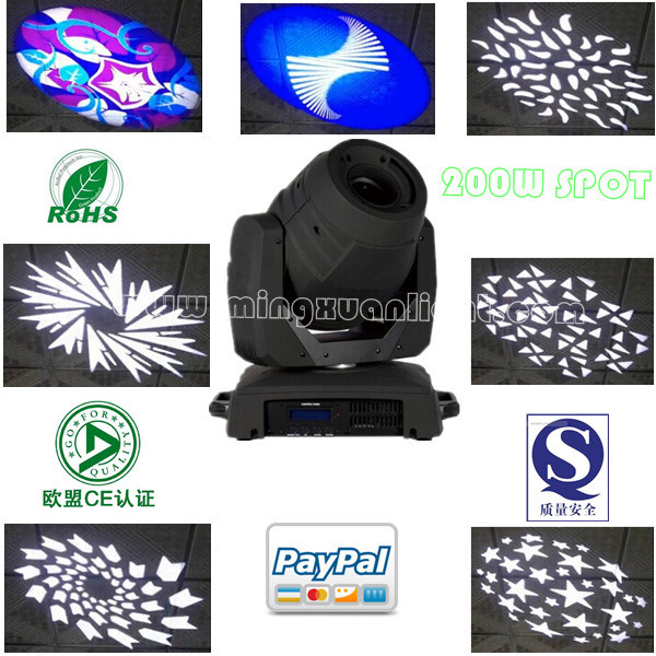 40% Discount for 200W Spot LED Moving Head (YS-223A)
