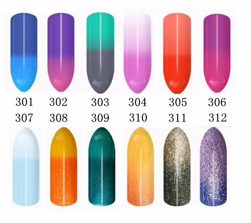 High Quality Professional Uv Gel Color Changing Nail Polish