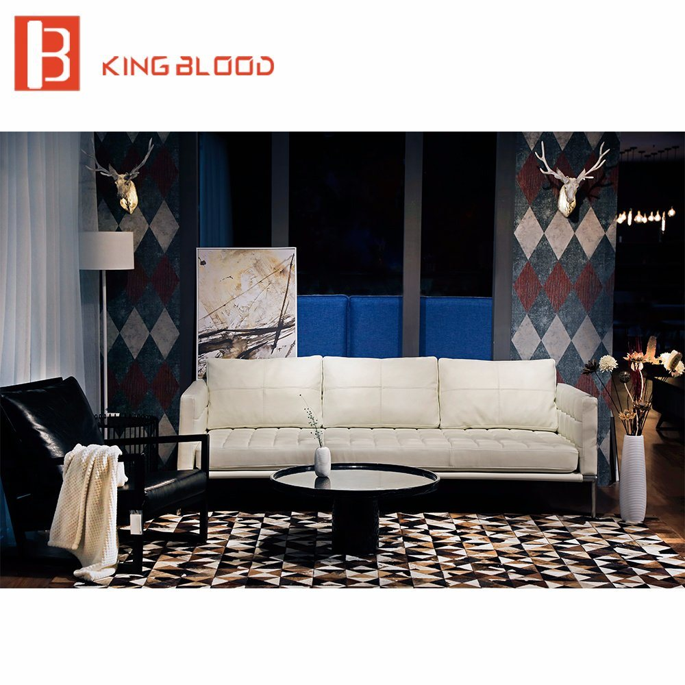 Genuine leather sofa manufacturers in china www for Good furniture brands for living room furniture