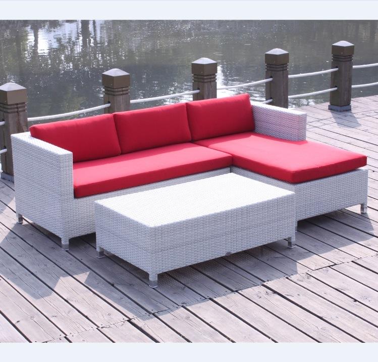 Awe Inspiring Hot Item Ratan Wicker Sectional Sofa Patio Furniture Onthecornerstone Fun Painted Chair Ideas Images Onthecornerstoneorg