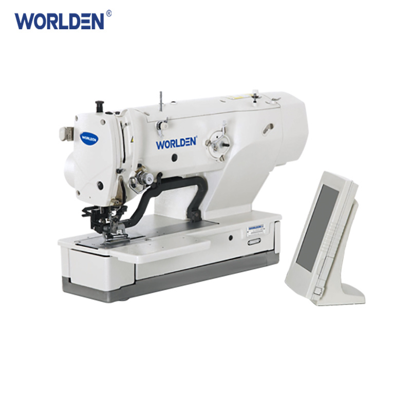 China Wd40s High Speed Computer Controlled Straight Button Sewing Beauteous Button Sewing Machine