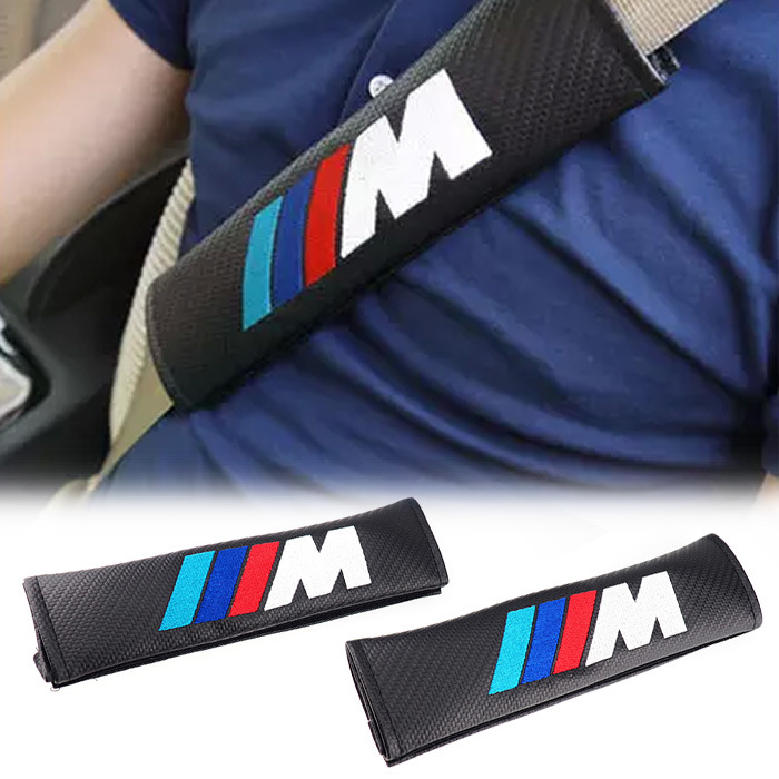 2X Car Seat Belt Pad Harness Safety Shoulder Cushion Covers
