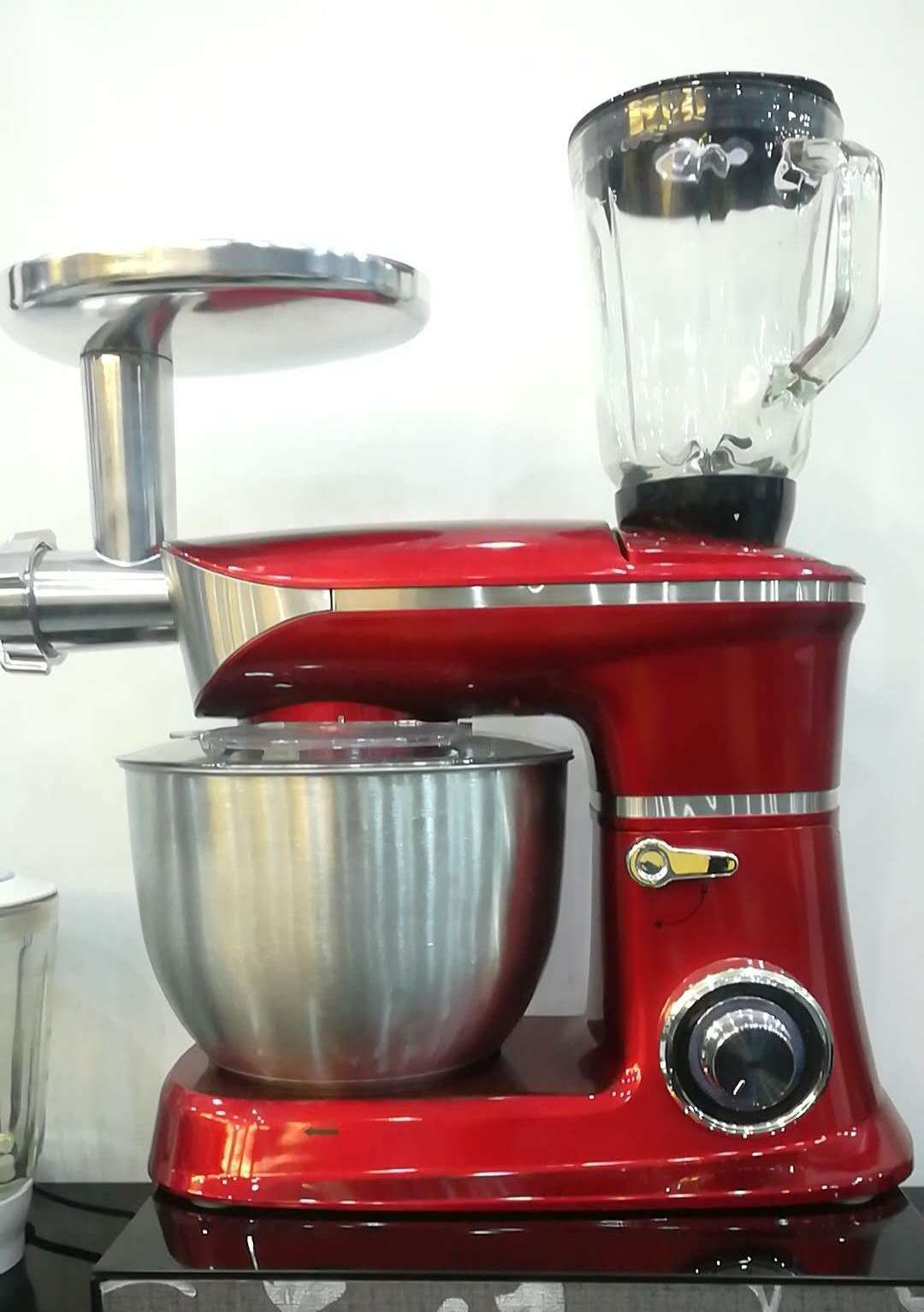 [Hot Item] 3 in 1/6.5 13000W Ss Bowl/Kitchen Aid Stand Mixer/Competitive  Price Kitchen Food Processor/with Meat Grinder and Blender