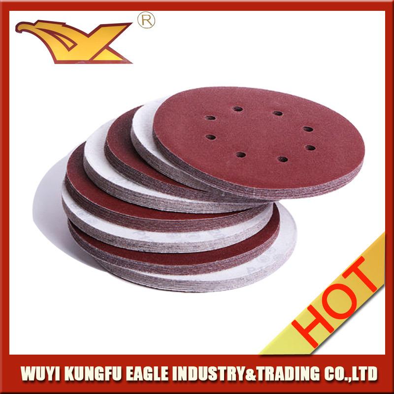 [Hot Item] Good Quality Best Price Velcro Sanding Disc (6 inch)