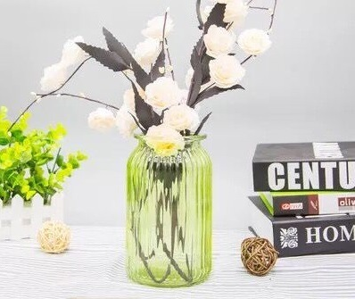 China Glassware Glass Jar Glass Bottle Wedding Decoration Colorful