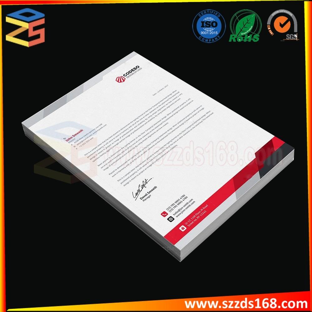 China Tear Off Company Letterhead Pad / Hotel Notepad