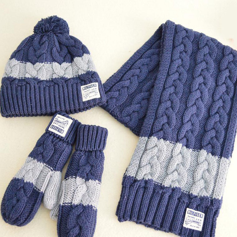 e6bb15d16d8 China Promotion Children Winter Acrylic Knitted Sets (hat