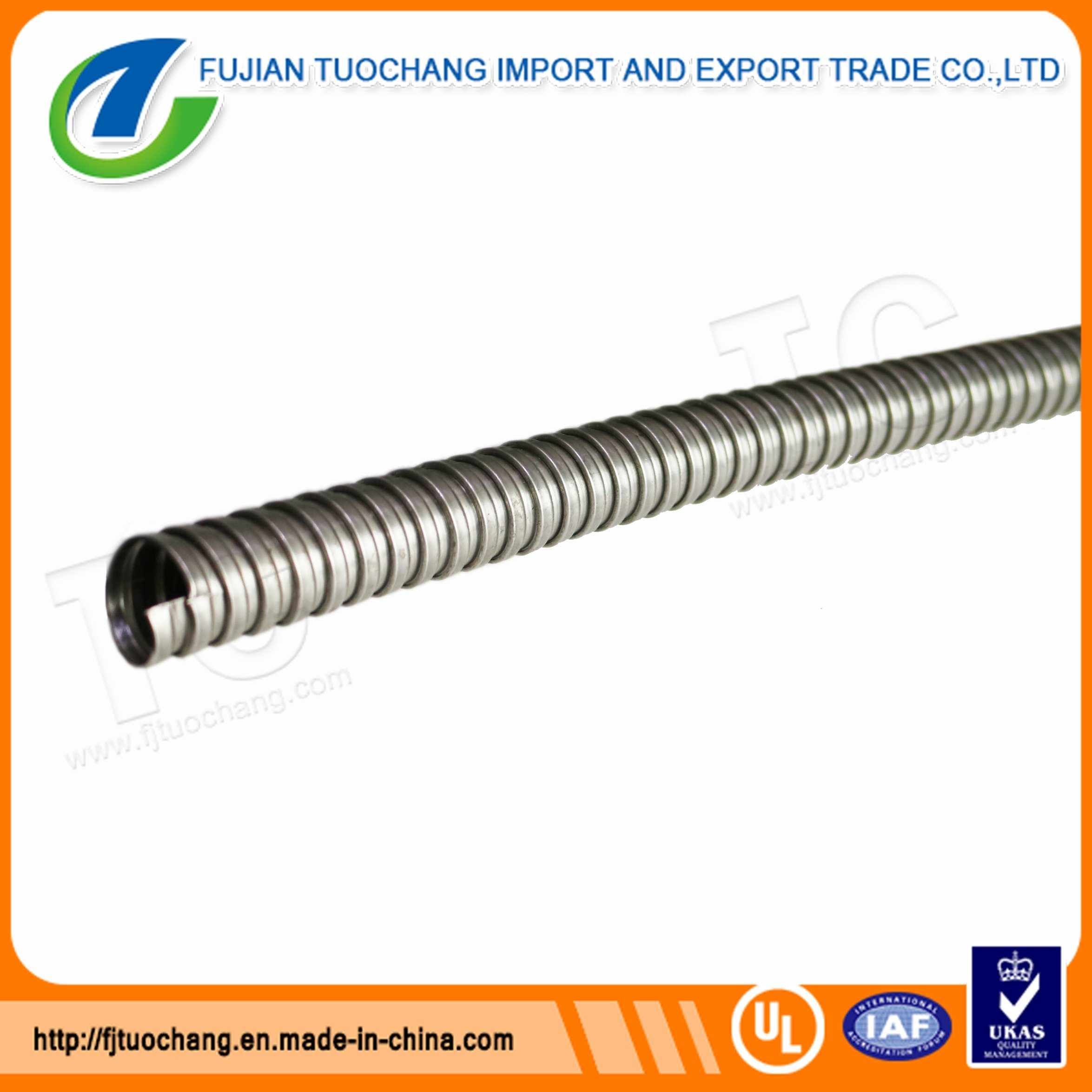 China Galvanized Flexible Conduit For Protect Electrical Wiring