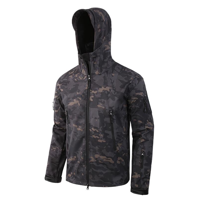 China Cp Black Mens Outdoor Hunting Camping Fleeces Tactical Jacket