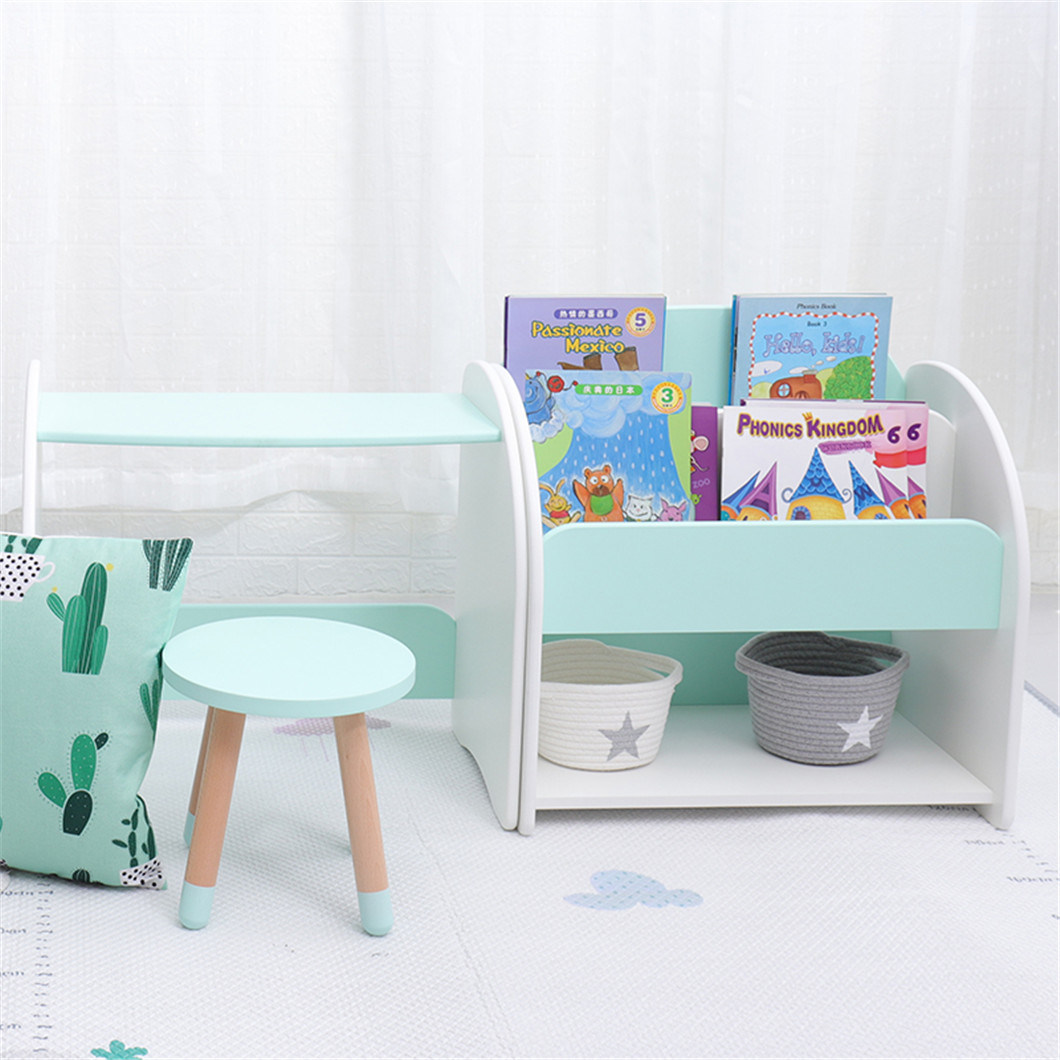 China Kids Furniture Child Bookcase Wooden Bedroom Bookshelf And Table Set For Kids Photos Pictures Made In China Com