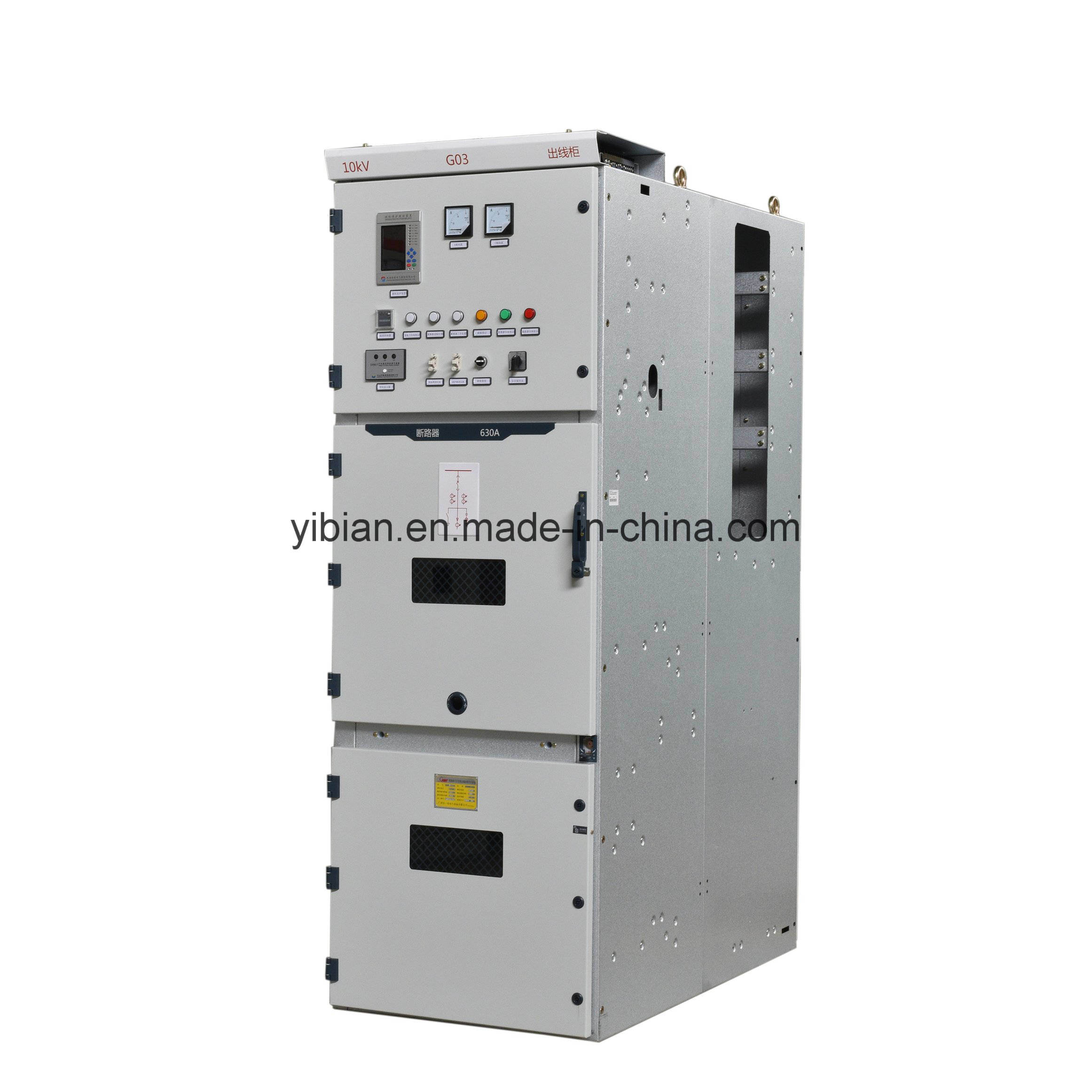 China Alternating Current Metal Enclosed Switchgear And Controlgear Circuit Breaker Enclosure