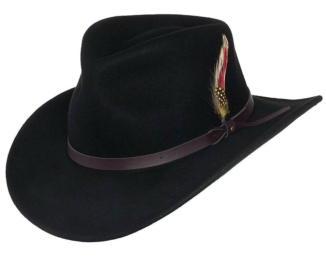 7e2e528985a China BSCI Audit Faux-Leather Durable Crushable Wool Jb Mauney Cowboy Hat -  China Jb Mauney Cowboy Hat
