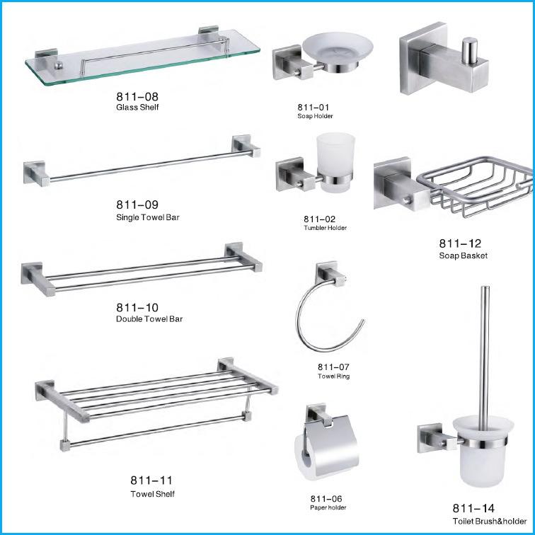 Bathroom Accessories.China 304 Stainless Steel Bath Hardware China Bath Hardware