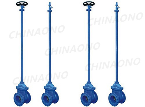China Resilient Soft Seated Gate Valve With Extend Spindle