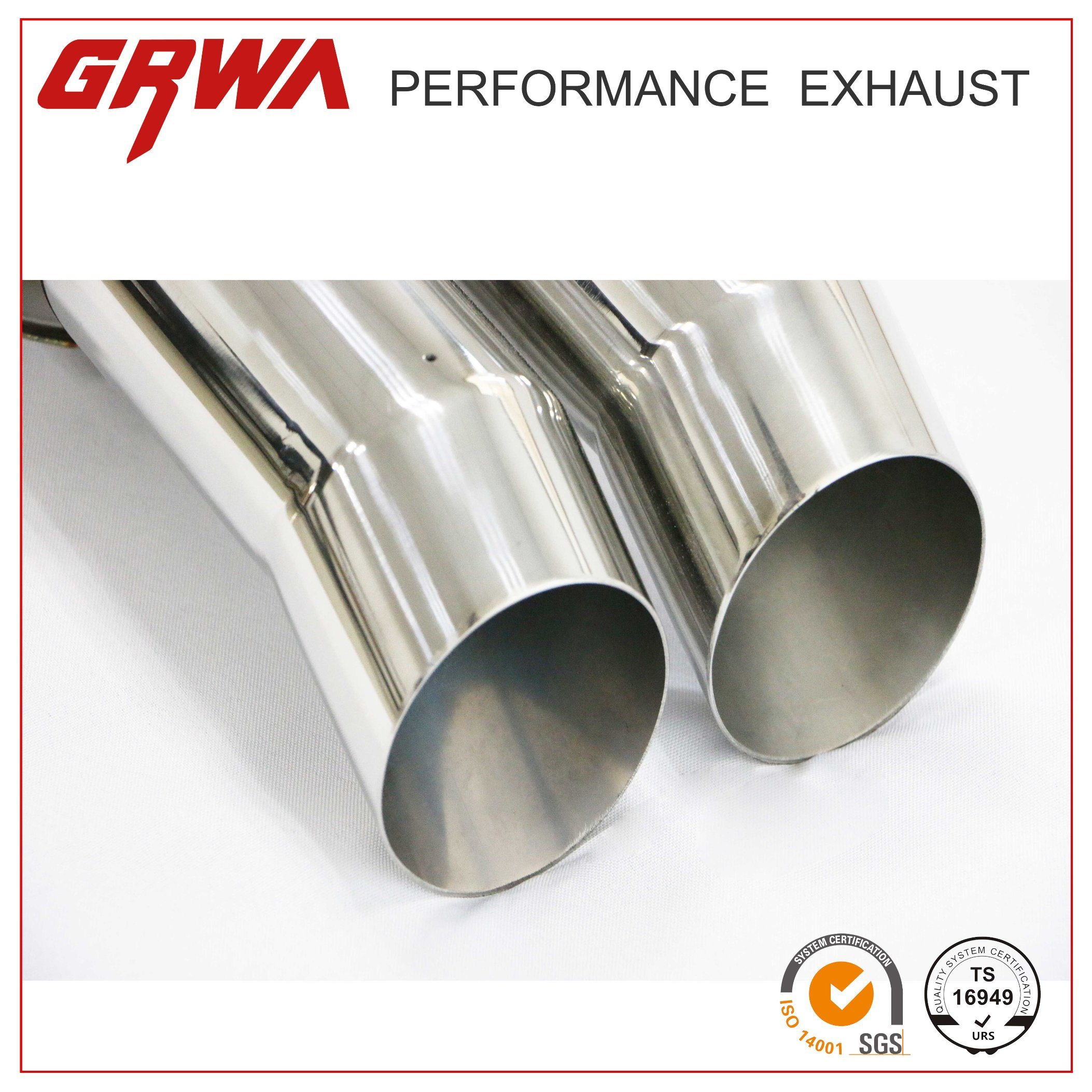 China Stainless Steel Exhaust Muffler Pipe for Universal Car