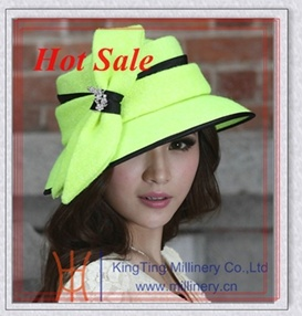 China Top Selling Newest Ribbon Fancy Church Hat for Ladies - China Church  Hat 7c2ad710fe8