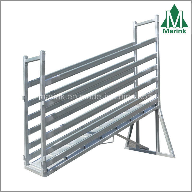 3m Steel Cattle Loading Ramp / Cattle Crush