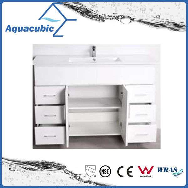 Australian Popular Customize High Glossy White Bathroom Vanity (AC8120) pictures & photos
