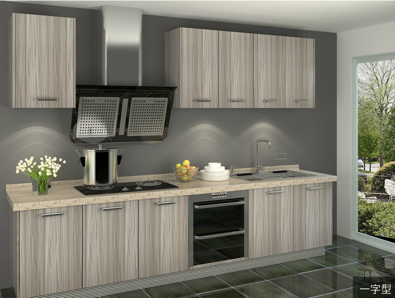 China Canberra II Modern Melamine Board Kitchen Cabinet (CA20-18 ...