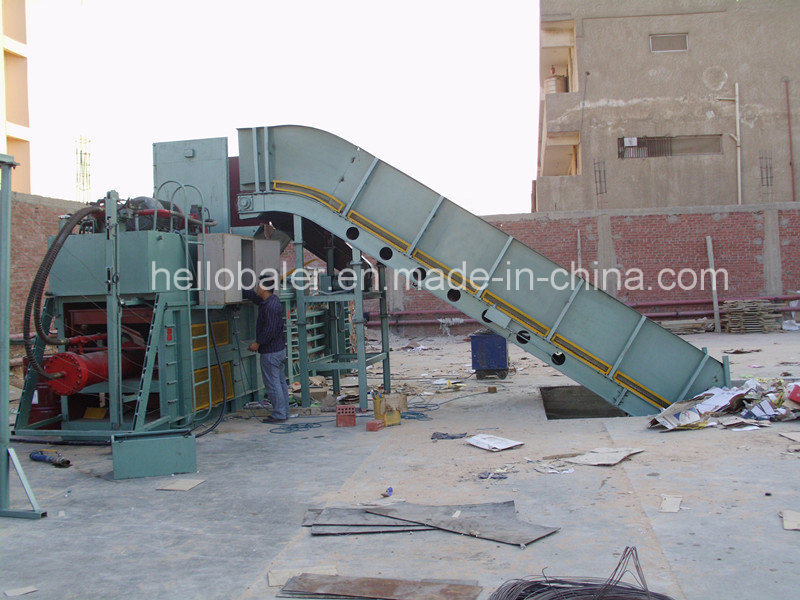 Horizontal Semi-Automatic Waste Paper Balers (HSA4-5) pictures & photos