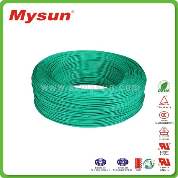China Fiberglass Braided Silicone Wire H05sj-K with VDE Certificate ...