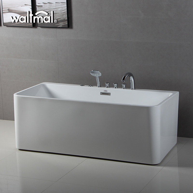 China Kohler OEM Waltmal Bath Freestanding Bathtub with Massage Jet ...