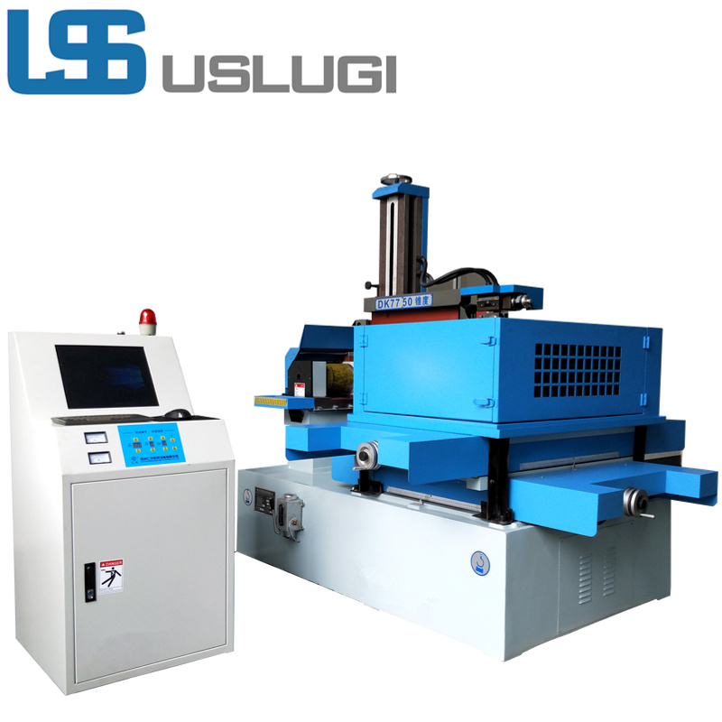 China Uslugi Low Price High Speed CNC Wire Cut EDM Machine - China ...