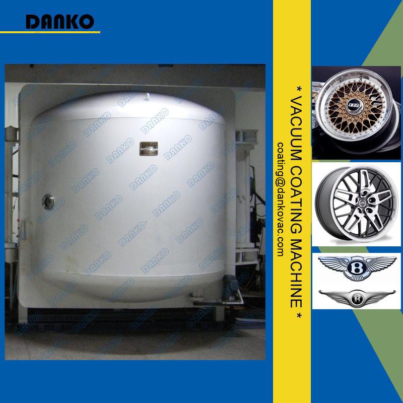China Danko Manufacturer Vacuum Coating Machine PVD System