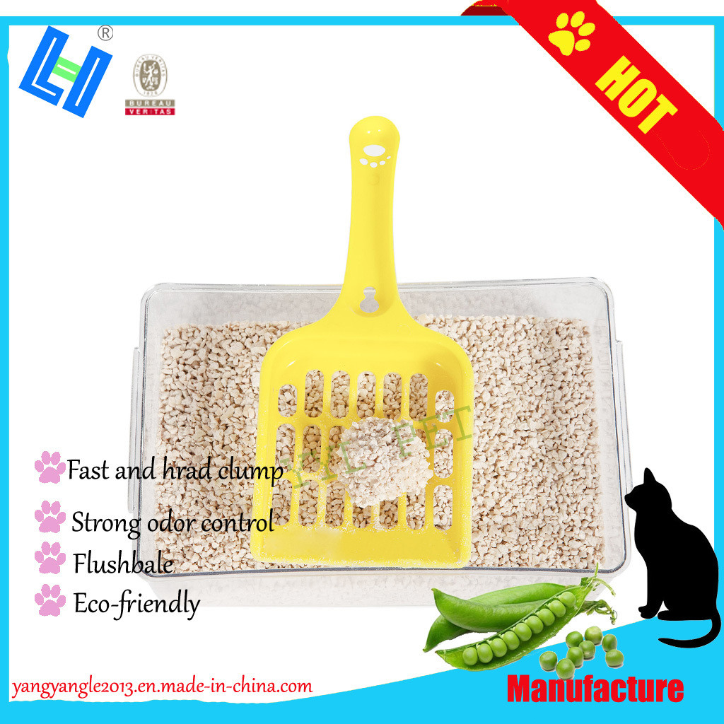 2019 High Quality, Fast Clump, No Stick Bottom Tofu Cat Litter-Peach Scent pictures & photos