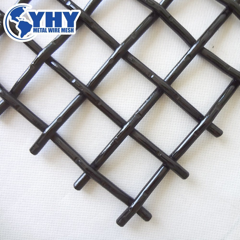 China High Carbon Steel Crimped Woven Wire Mesh Used in Stone ...