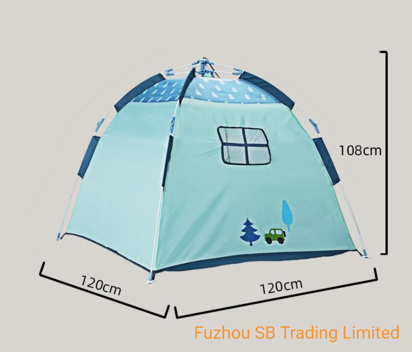 China Portable Outdoor Children Automatic Tent Baby Puzzle Game Mini House Sports Equipment Mountain Camping Tent Supply Photos Pictures Made In China Com